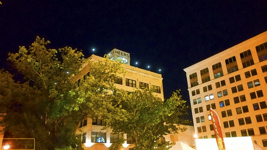 Heers Building at Night